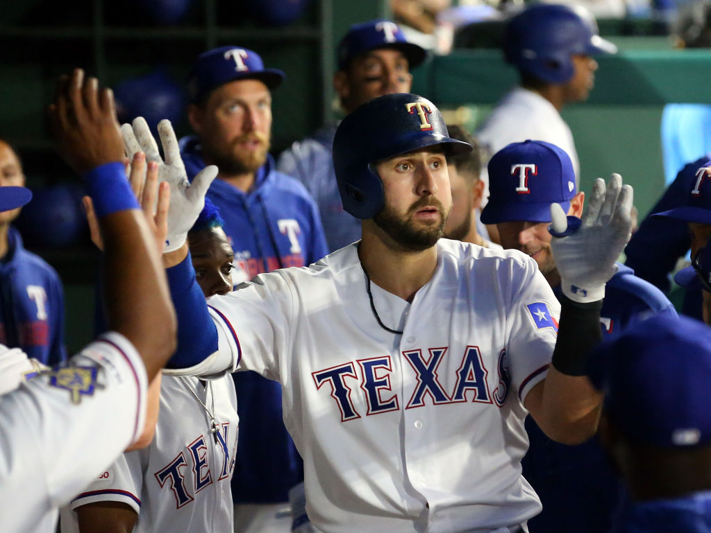 Joey Gallo cranked 100 career home runs before hitting 100 singles -- the first player to ever do so.