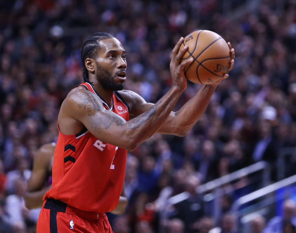 The Toronto Raptors have two great arguments to make when they try to resign Kawhi Leonard in the 2019 offseason.