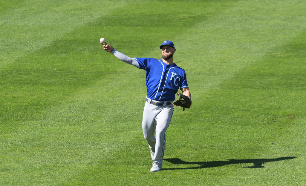 Alex Gordon is one of the MLB players active in 2019 with the most outfield assists.