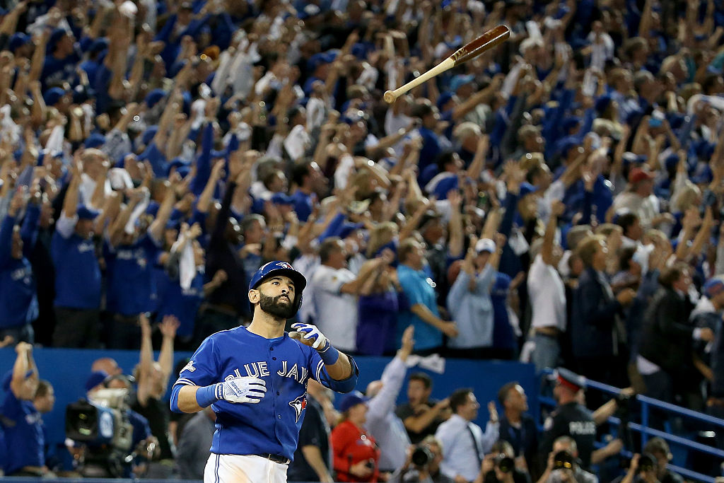 Jose Bautista perfected the art of the bat flip.