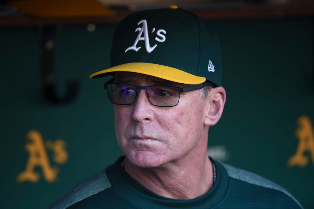 The A's Bob Melvin is one of the oldest MLB managers.