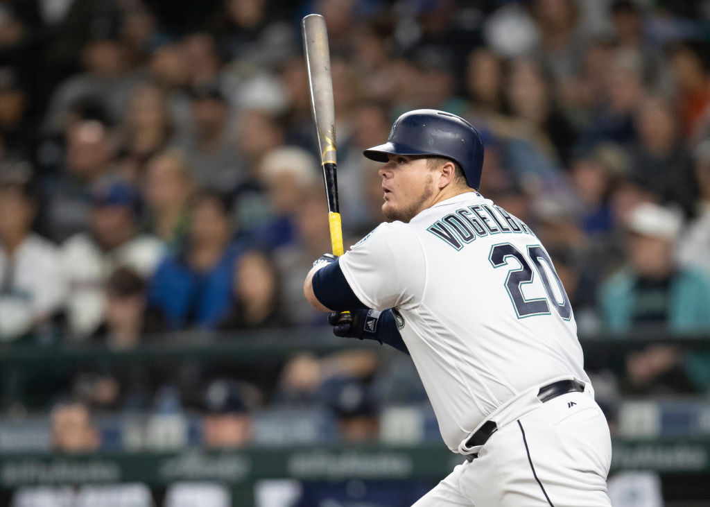 The Mariners Dan Vogelbach is one of the big boppers on one of baseball's best lineups in 2019.
