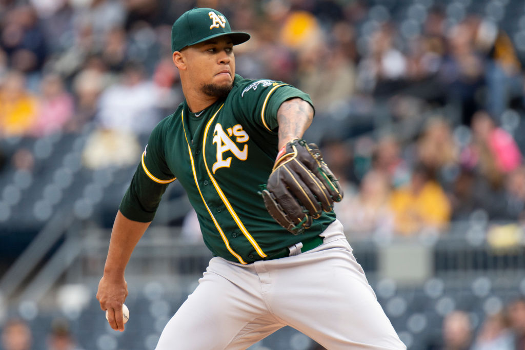The Athletics have struggled at the start of the 2019 MLB season, but Frankie Montas has been a bright spot.