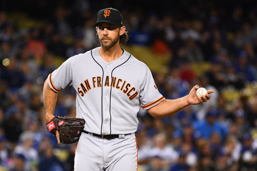 San Francisco Giants pitcher Madison Bumgarner has a genius no-trade list in 2019.