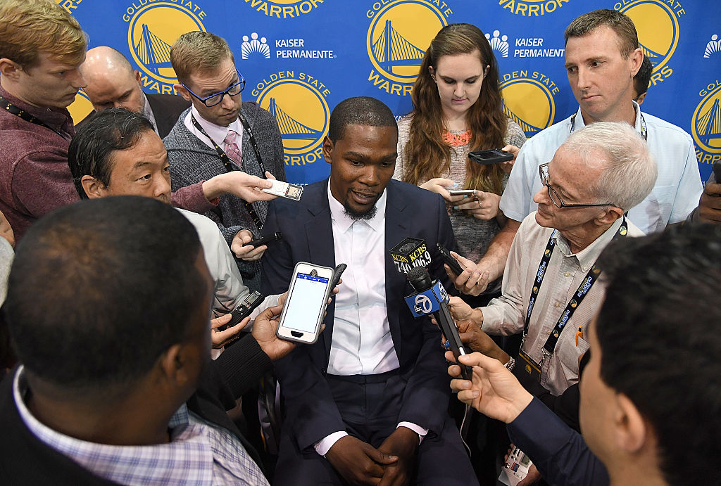 NBA free agency is going to be a little different for Kevin Durant and other stars.