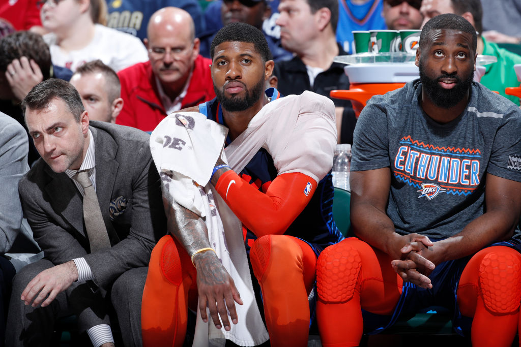Paul George's injury means the 2019-20 season is already off to a bad start for the Oklahoma City Thunder.