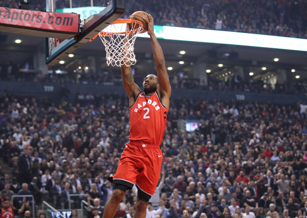The Raptors Kawhi Leonard had one of the best field goal percentages in the 2019 NBA playoffs after the first round.