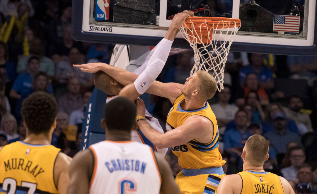 Mason Plumlee was one of the NBA players who committed the most fouls in the 2018-19 season.