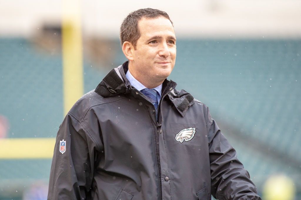 Philadelphia's Howie Roseman is one of the best NFL general managers.