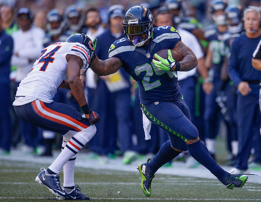 """Marshawn """"Beast Mode"""" Lynch has one of the best NFL nicknames ever."""