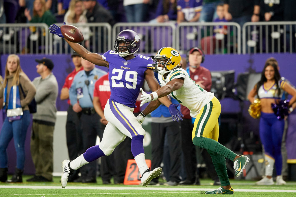 Xavier Rhodes has one of the best NFL nicknames ever -- Rhodes Closed