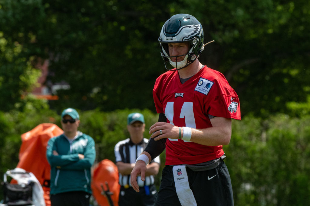 Carson Wentz is one of the NFL players under pressure to perform well in 2019 and prove his injury history is a fluke.