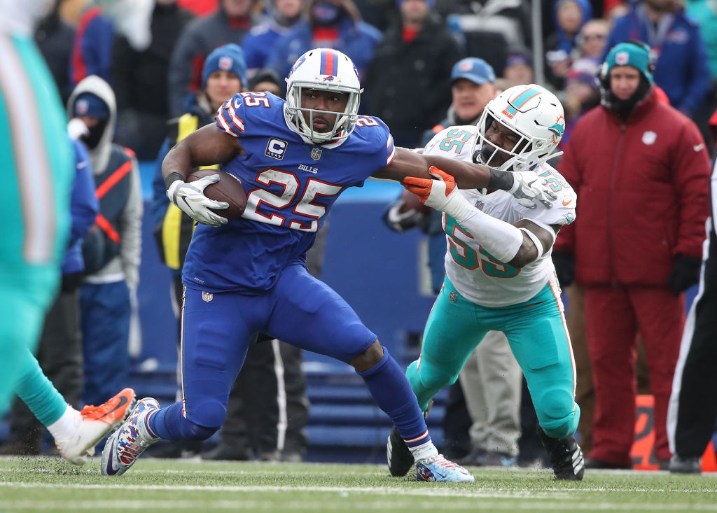 LeSean McCoy might be one of the NFL veterans replaced by rookies in 2019
