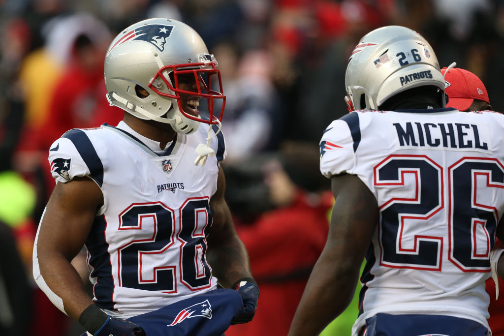 A deep and talented group of running backs gives the New England Patriots yet another edge on the rest of the NFL.