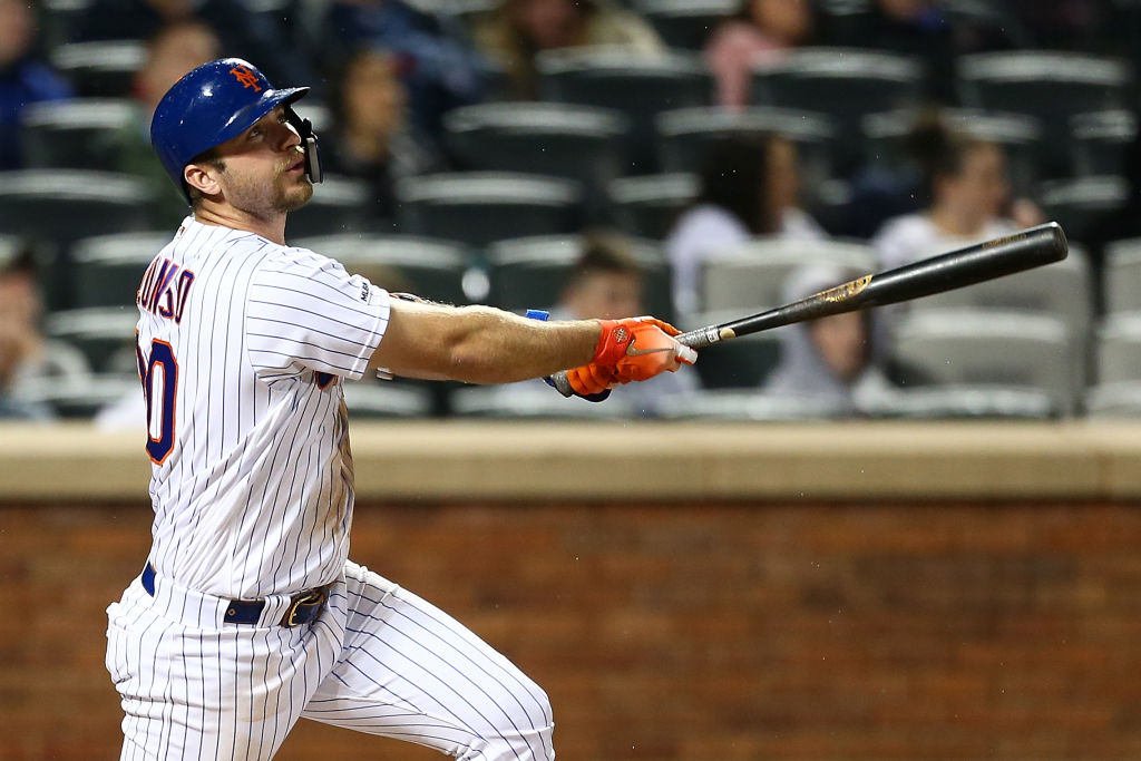 Mets rookie Pete Alonso hopes to compete in the home run derby in 2019.