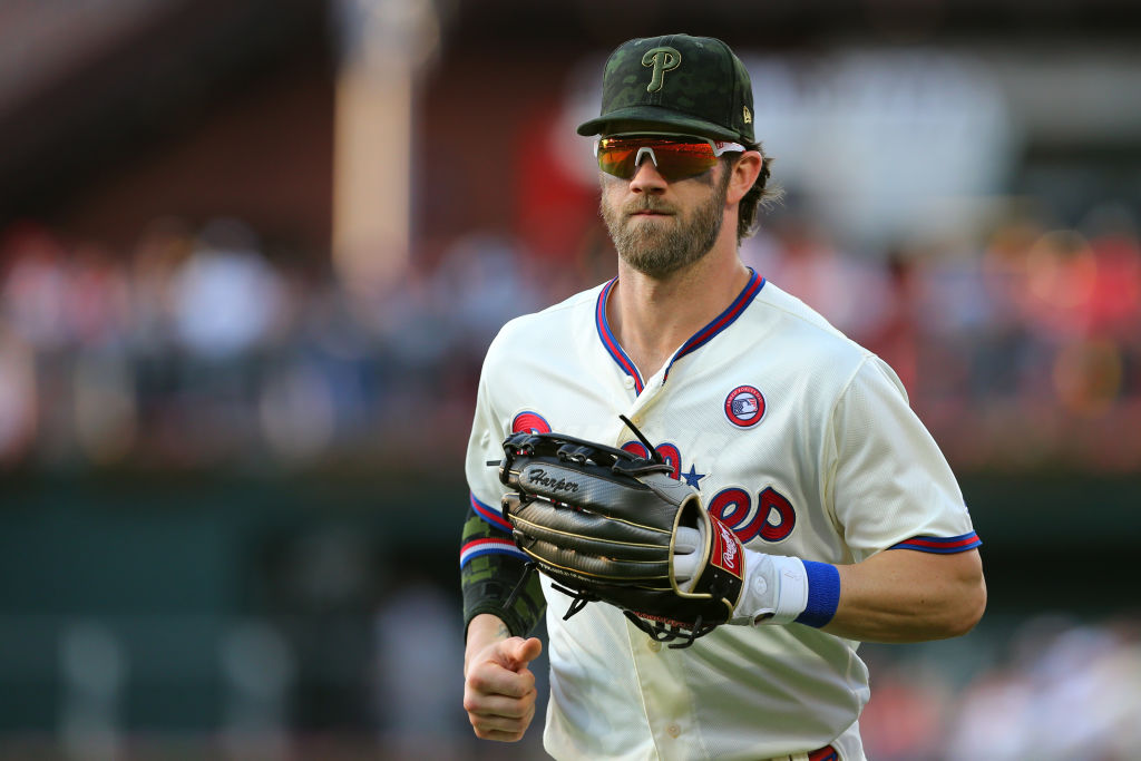 Should the Philadelphia Phillies  worry about Bryce Harper and his struggles at the plate?