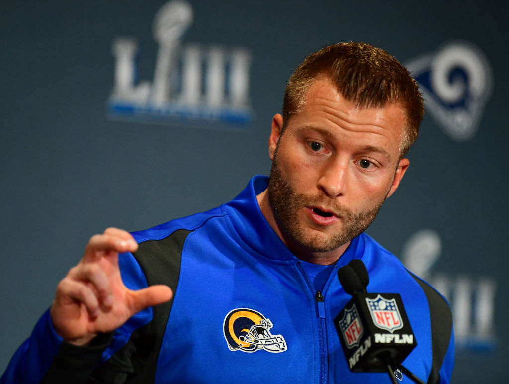 Sean McVay regrets the way he prepared for the Super Bowl.