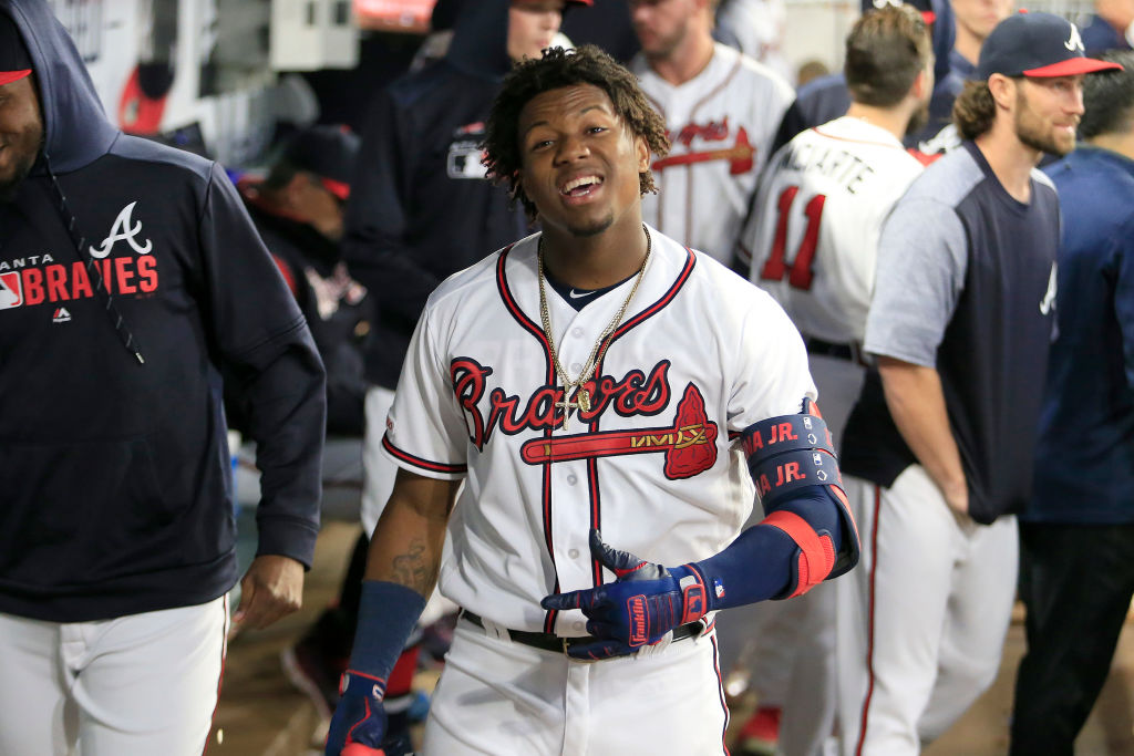 Ronald Acuna Jr. is a young MLB player, but he's already on pace to be one of the best ever.