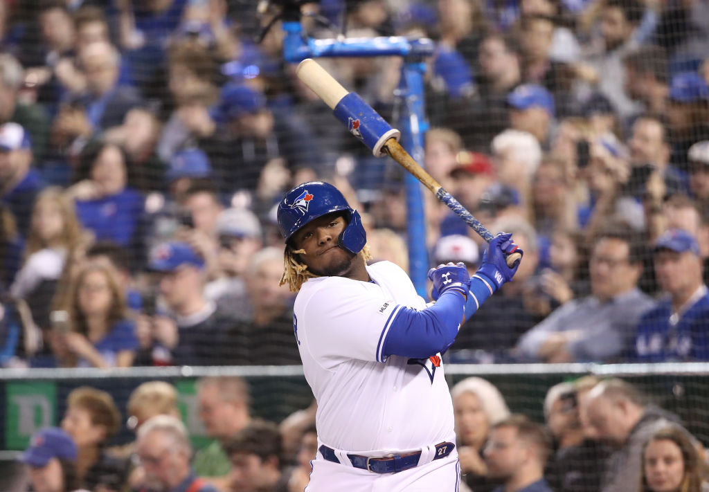 Vladimir Guerrero Jr. has a lot of hype surrounding him considering what his Hall of Fame dad achieved.