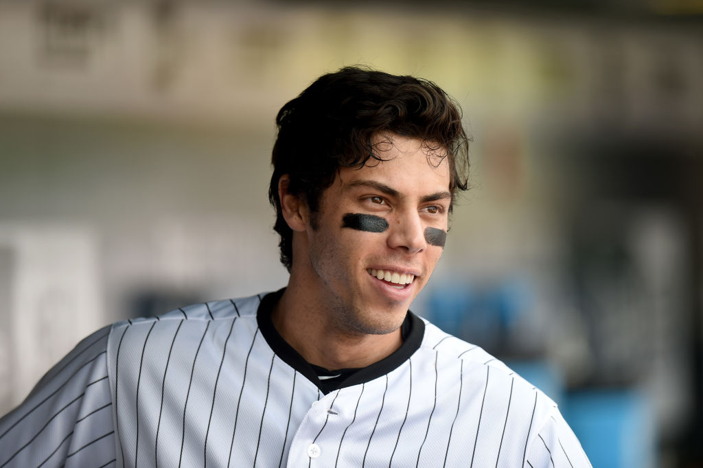 Christian Yelich of the Milwaukee Brewers