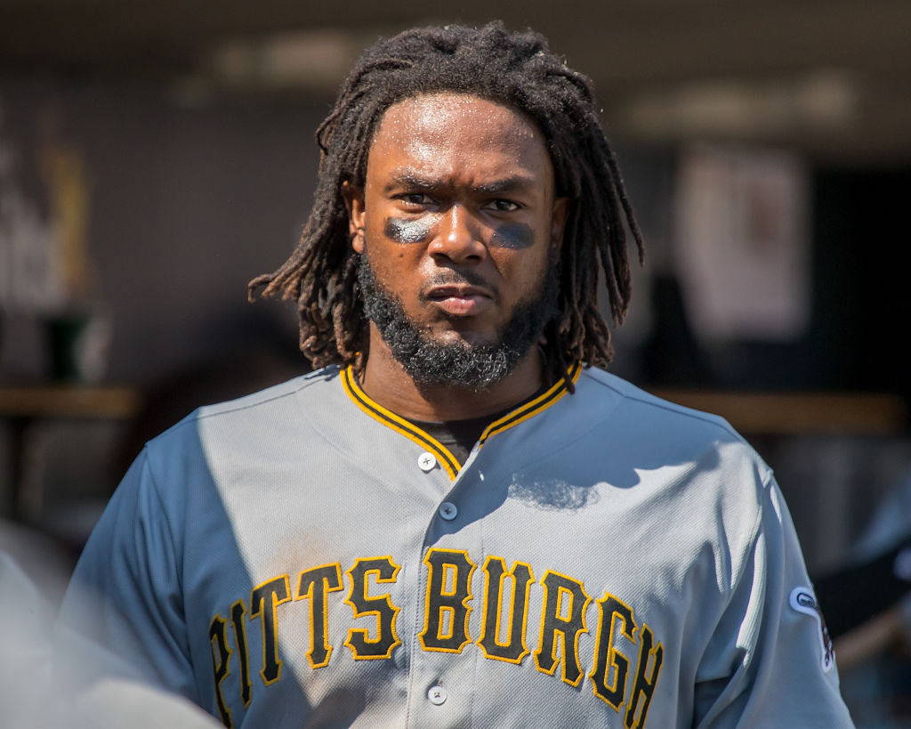 Josh Bell of the Pittsburgh Pirates