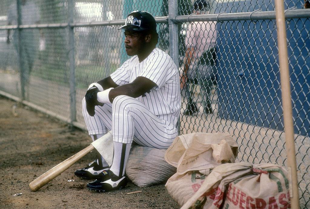 Rickey Henderson of the New York Yankees