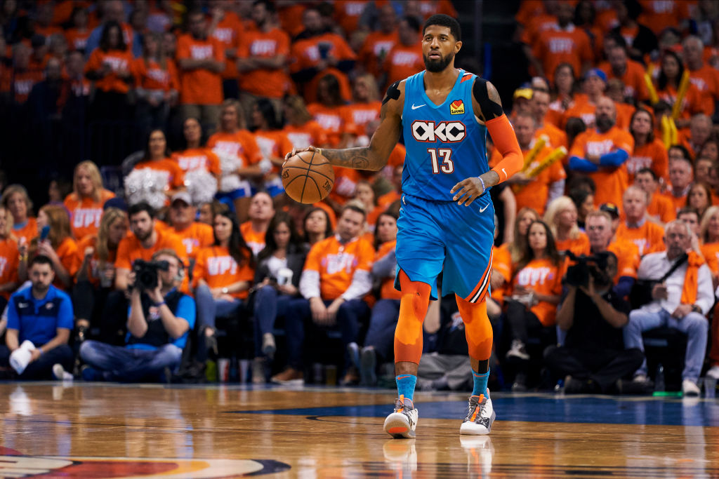 Paul George is a finalist for NBA MVP in 2019.