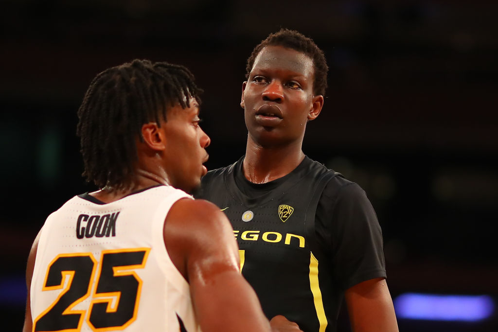 Despite his height, Bol Bol has NBA draft bust potential.