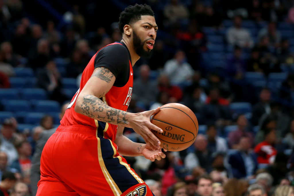 Anthony Davis is helping the New Orleans Pelicans by making it clear he won't resign when he's a free agent no matter what.
