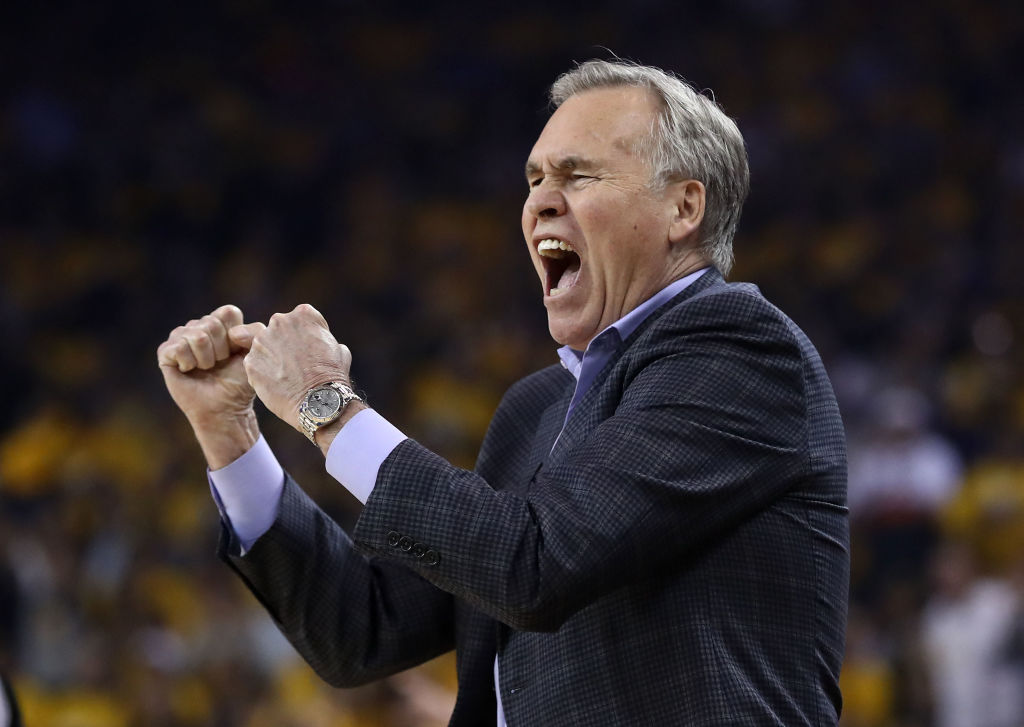 Houston Rockets coach Mike D'Antoni could be on his way out soon.