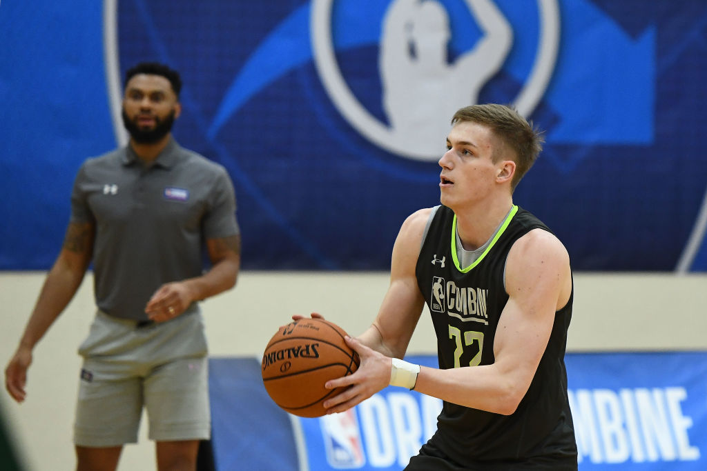 Luka Samanic is one of the best international players in the 2019 NBA draft.