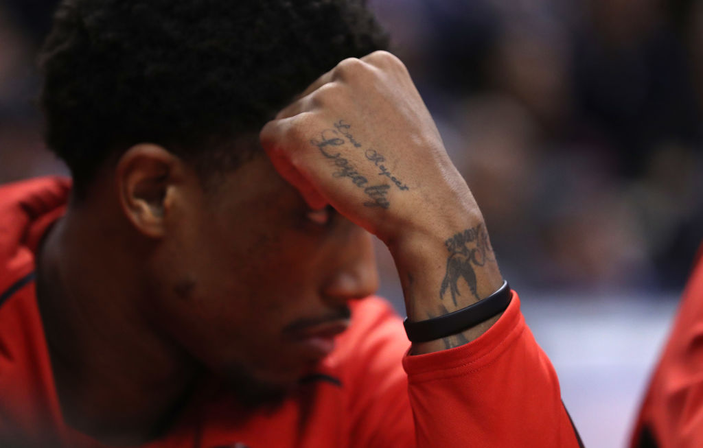 DeMar DeRozan has some of the best tattoos in the NBA.