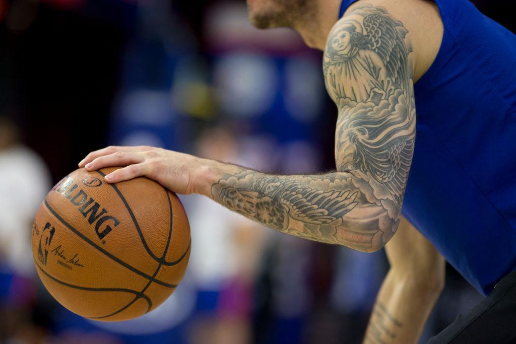 JJ Redick has some of the best tattoos in the NBA.
