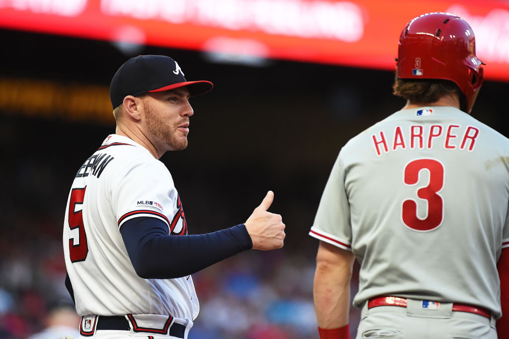 Freddie Freeman and the Atlanta Braves lead the NL East in part because their rivals are struggling.