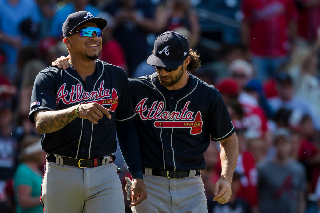 The Atlanta Braves lead the NL East because they have the best talent, and their rivals are struggling.
