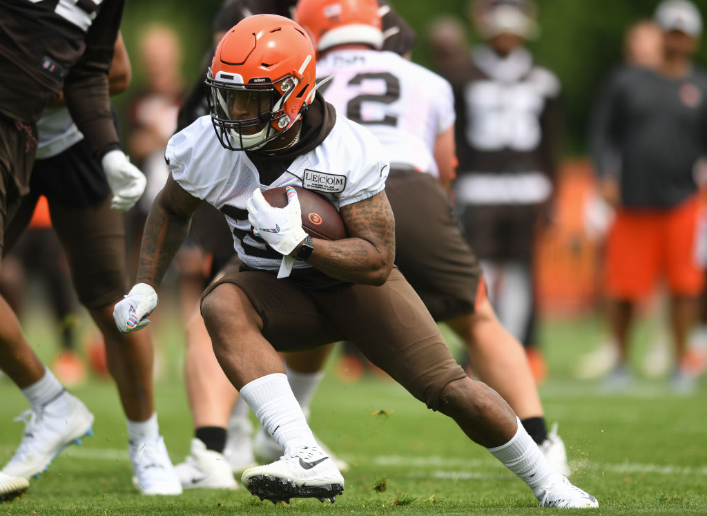 Duke Johnson requested a trade from the Cleveland Browns, and his teammates and coaches shrugged it off.