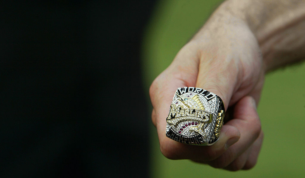 The 2003 Florida Marlins had some of the most extravagant championship rings ever.