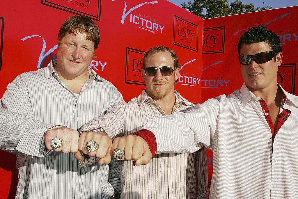 The New England Patriots that won the 2005 Super Bowl had some of the most extravagant championship rings ever.
