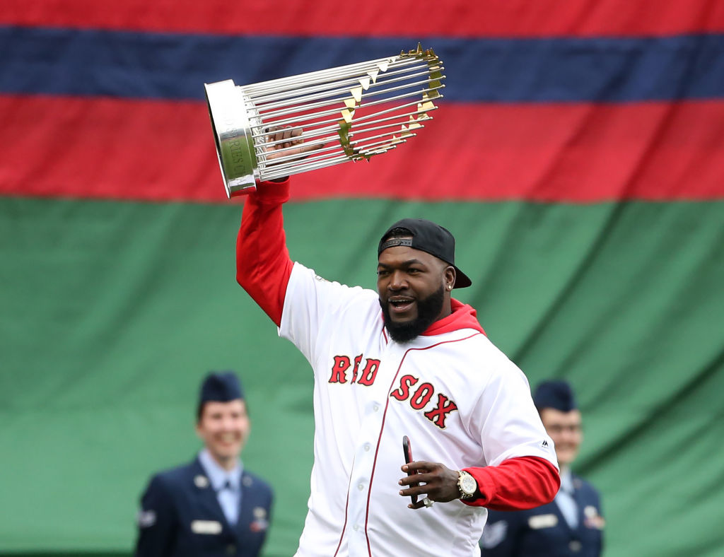 David Ortiz has some solid Hall of Fame stats, including three World Series rings.