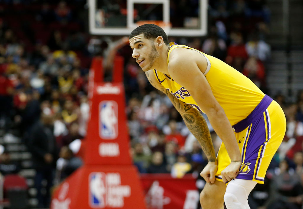 Lonzo Ball is headed out of Los Angeles, which makes him one of the losers in the Anthony Davis trade.