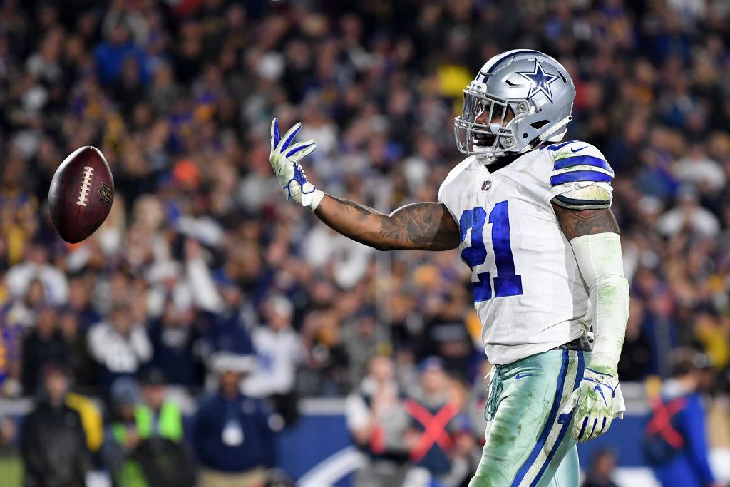Ezekiel Elliott doesn't like the news that the Dallas Cowboys want to lighten his workload.
