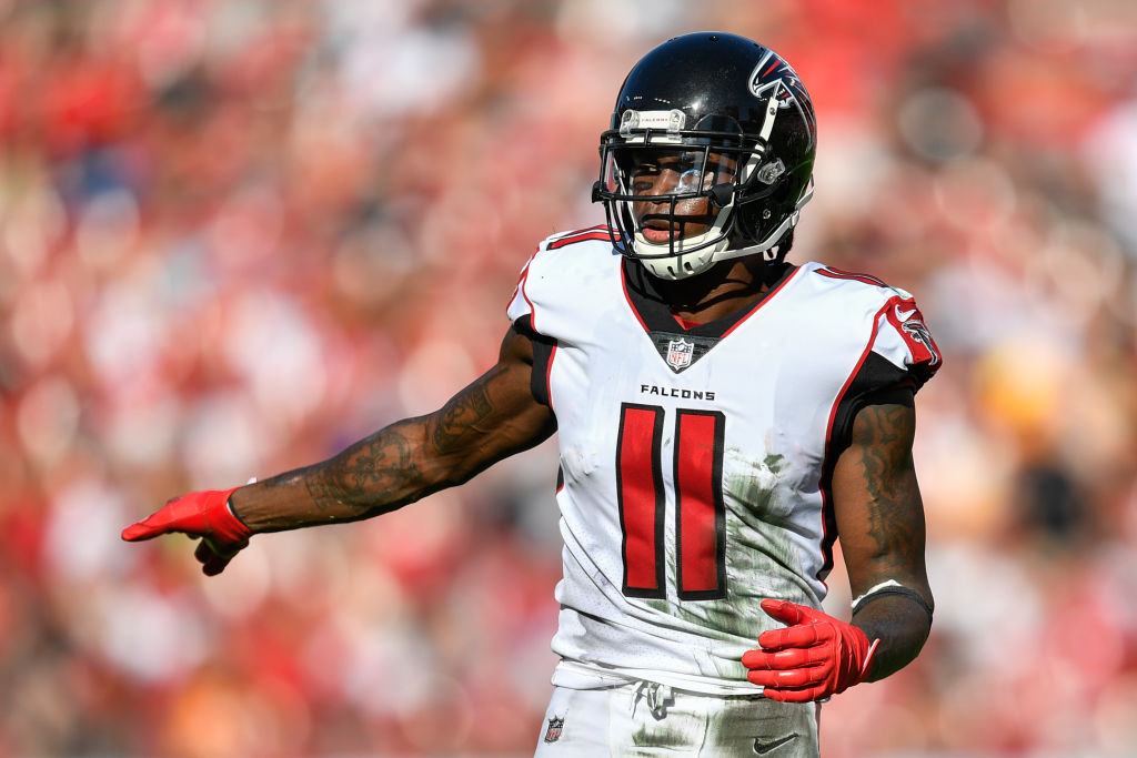 Julio Jones is one half of the Atlanta Falcons dynamic wide receiver duo, which might be the best in the NFL.