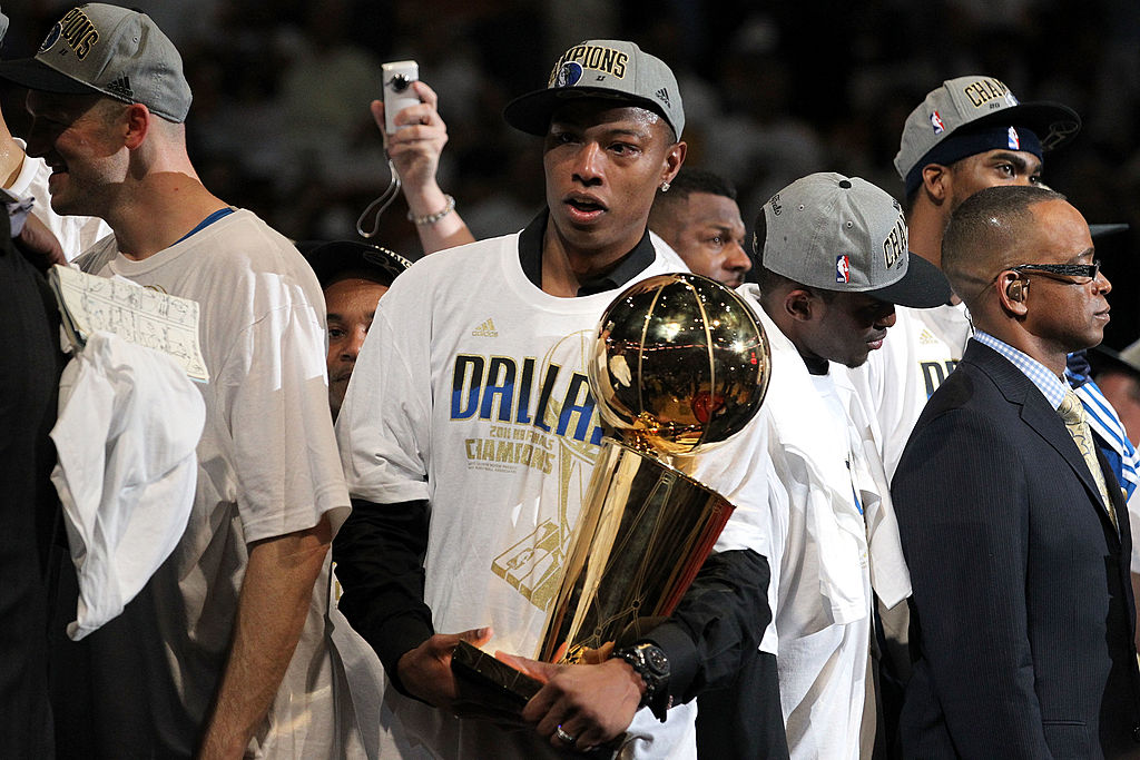 Caron Butler joined the list of NBA players who won titles despite not playing much when the Mavericks won in 2011.