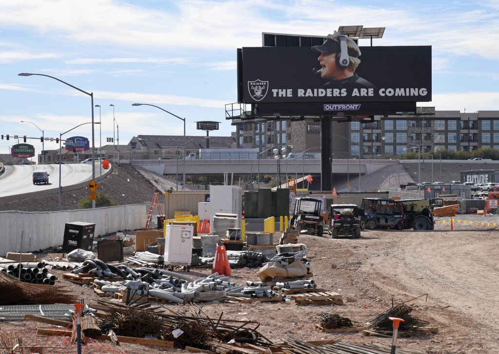 The Las Vegas Raiders figure to host a Super Bowl at some point, the only question is when.