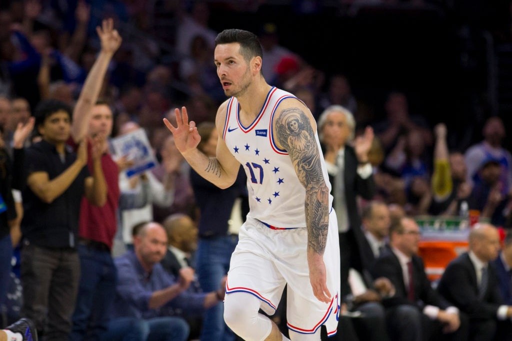 JJ Redick is one of the free agents the Los Angeles Lakers should take a look at in 2019.