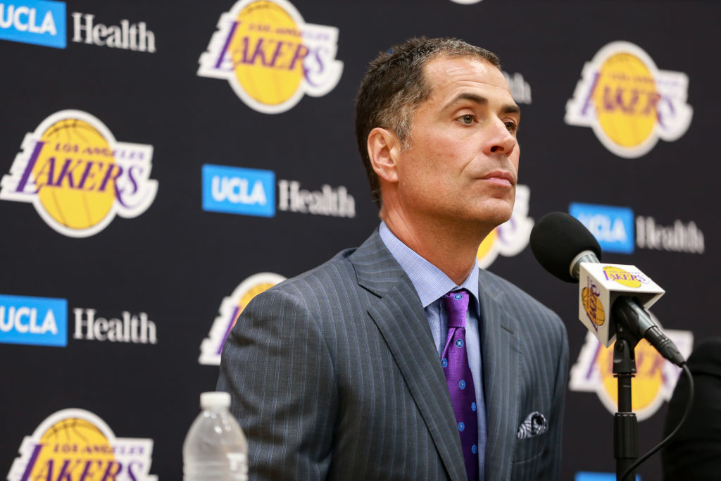 Rob Pelinka and the Lakers got Anthony Davis, but they still might find a way to botch the trade.