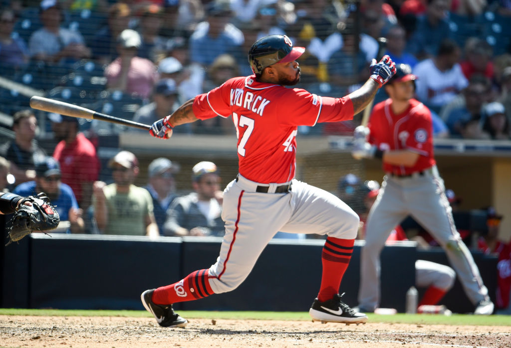 Howie Kendrick is one of the MLB players with rising trade value in 2019.