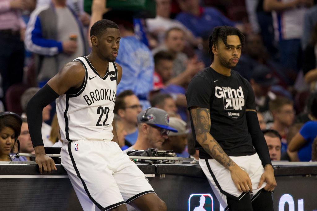 Caris LeVert (left) and D'Angelo Russell have the Brooklyn Nets poised to become NBA Finals contenders very soon.