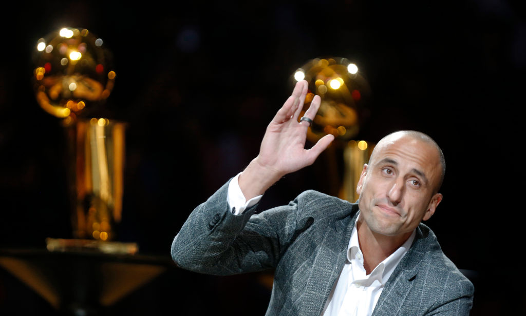 Many Ginobili is one of the best second-round picks in NBA draft history.