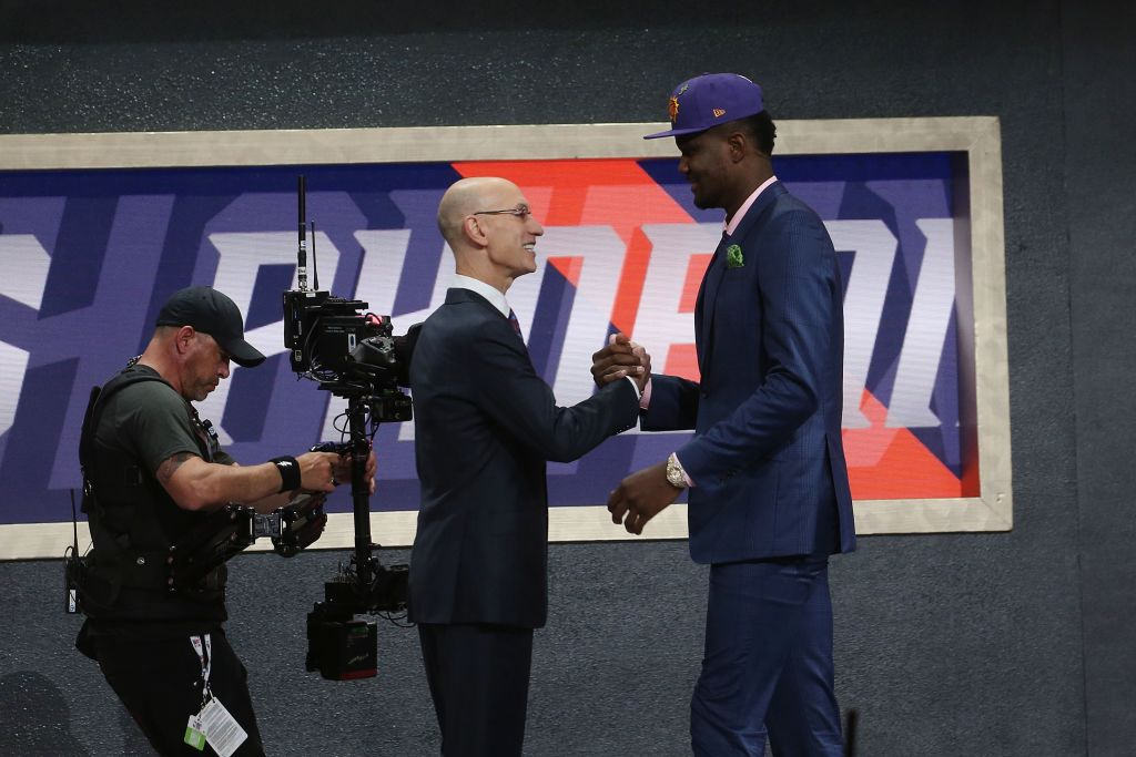 Adam Silver will be there for the 2019 NBA draft June 20 at the Barclays Center in Brooklyn, N.Y.